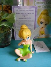 Jasmine Becket Griffith Disney Tinker bell Figurine All Eyes This Way Please