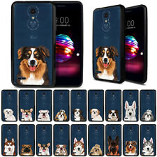 "For Lg K10/ K10+ Plus K30 2018 5.3"" Animal Design Black Bumper Clear Case Cover"