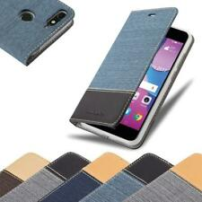 Case for Huawei Y6 PRO 2017 Phone Cover Denim Style Protective Wallet Book