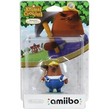 Mr. Resetti amiibo Animal Crossing Nintendo 3DS Switch Wii U New Sealed