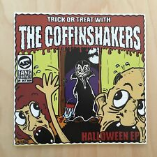 "THE COFFINSHAKERS - Halloween 7"" Vinyl EP *Horror Rockabilly Country*"