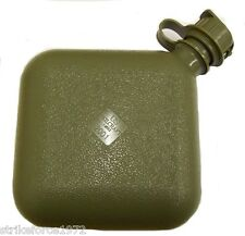 NEW - Genuine US Forces Olive Green 2 Quart Collapsible Water Canteen - Unissued