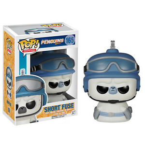 Funko Pop! Vinyl - Penguins of Madagascar Short Fuse - New in Stock