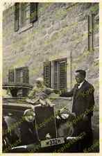 Foto Jerusalem deutsche Kolonie Templer Bäckerei Fauser Auto Mercedes 170 V 1939