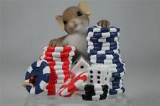 Charming Tails 'I'm Betting On You' Dice & Chips All In #4027097 Nib!