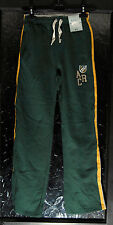 New with Tags Boy's Green/Yellow/Beige Stripe Tracksuit Bottoms by TU Age 12