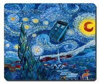 NEW mousepad Doctor Who Meets Van Gogh