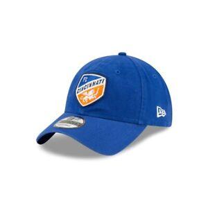 FC Cincinnati New Era 9TWENTY MLS Adjustable Strapback Hat Dad Cap Soccer