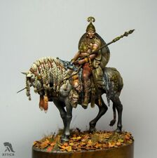 Mounted Celt with War trophies Tin Painted Toy Soldier Pre-Order | Museum