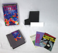 1989 Tetris NES Nintendo Game Cartridge Complete w/ Box, Game Sleeve & Manual