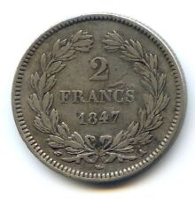 Louis Philippe Ier (1830-1848) 2 Francs 1847 A Paris