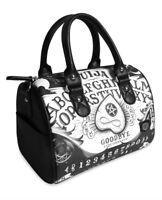 Liquor Brand Ouija Board II Occult Horror Goth Round Purse Handbag LB-BRB-00036