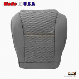 """Fits 2007 2008 Toyota Tacoma Driver Bottom Replacement Cloth Cover Gray """"Manual"""""""