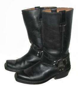 """Fette """" Buffalo """" Biker Boots/Western Boots / Boots IN Black Size 39"""