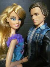 Barbie Couple LOT Deboxed Hunger Game Peeta Ken + Hybrid Holiday 2004 Model Muse