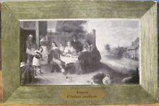 Vintage Art Postcard L'ENFANT PRODIGUE David Teniers Oil Painting Louvre 1908