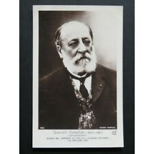 SAINT-SAËNS Camille Carte Postale CPA partition sheet music score