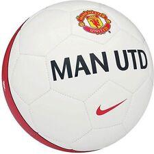 Nike Manchester United Red Devils Supporter Soccer Ball White Sz 5 New