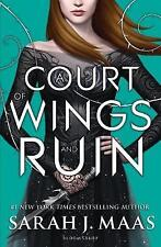 A Court of Wings and Ruin by Sarah J. Maas Paperback..