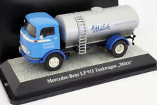 Mercedes-Benz lp911 camion citerne Lait bleu/argent 1:43 PremiumClassiXXs