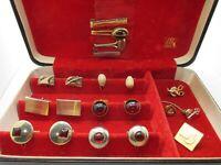 Estate Cuff Links Lot Pins Clips Cufflinks Wear Repair Craft BOX NT INCLUDED L13