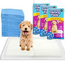 60 Super Absorbent Premium Puppy Training Pads 60x45cm Dog Mats Pet