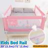 Baby Bed Rail Toddler Guard Safety Adjustable Kids Infant Bed Fence Universal