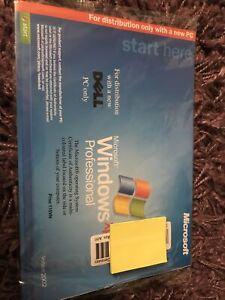 Windows XP Professional software. Unused. Sealed