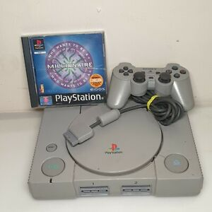 Original Sony Playstation One PS1 SCPH-5552 Console Bundle Working