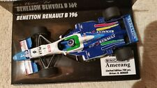 Minichamps Benetton Renault B196 G. Berger #4, British GP F1 1996 1/43