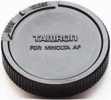 Genuine Tamron Rear Lens Cap For Minolta Sony Alpha AF Mount Lenses