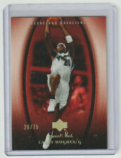 LARRY HUGHES Cavaliers 2005-06 Sweet Shot GOLD #19 SP Parallel #26/75