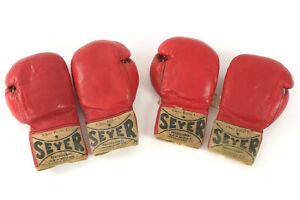 1973 Muhammad Ali & Ken Norton Ring Used Worn Boxing Gloves Provenance + Mears