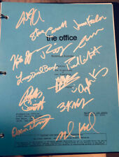 "THE OFFICE ""Michael's Birthday"" ORIGINAL studio script SIGNED by CAST X14 w/ COA"