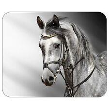 Grey Horse Portrait Mousepad Mouse Pad Mat