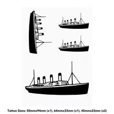 'Titanic Ship' Temporary Tattoos (TO018380)