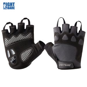 Lightbare Complete Cycling Gloves Half Finger Bicycle Mittens for Men and Women