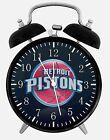 "Detroit Pistons Alarm Desk Clock 3.75"" Home or Office Decor W211 Nice Gift"