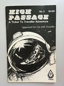 TRAVELLER:   High Passage, A Ticket to Traveller Adventure No.3