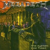 Megadeth - The System Has Fail NEW CD