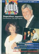 DWB #119 / UK Doctor Who Mag / Oct 1993 / TOM BAKER / LALLA WARD / QUANTUM LEAP