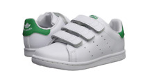ADIDAS BZ0520 STAN SMITH CF I Inf`s (M) White/White/Green Leather Casual Shoes