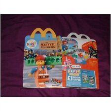 U.K McDonalds happy meal lego 2014 empty box (used)