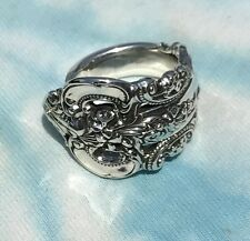 Wallace Grande Baroque Sterling Spoon Ring From Dinner Fork