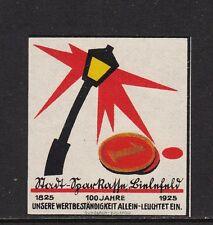 403216/ Reklamemarke - 100 Jahre Stadt-Sparkasse Bielefeld - 1925 - **