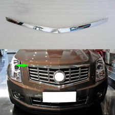 1PCS Chrome Hood Moulding Upper Grille Guard Trims For CADILLAC SRX 2010-2015