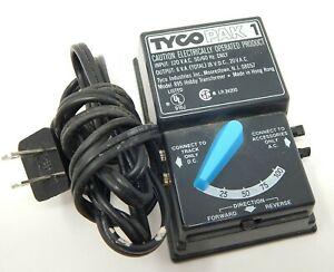 Tyco Model 895 Pak 1 Train Transformer Tested Black