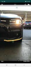 2015-2019 Dodge Charger Hellcat / Scat Pack / SRT Yellow Splitter Protectors OEM