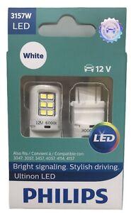 NEW Philips Ultinon LED 3157W  White Exterior Car Light, 2 pc. 3157WLED
