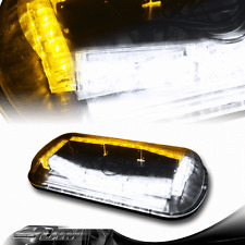 32 LED Amber/White Magnetic Roof Top Emergency Signal Flash Tow Strobe Light B
